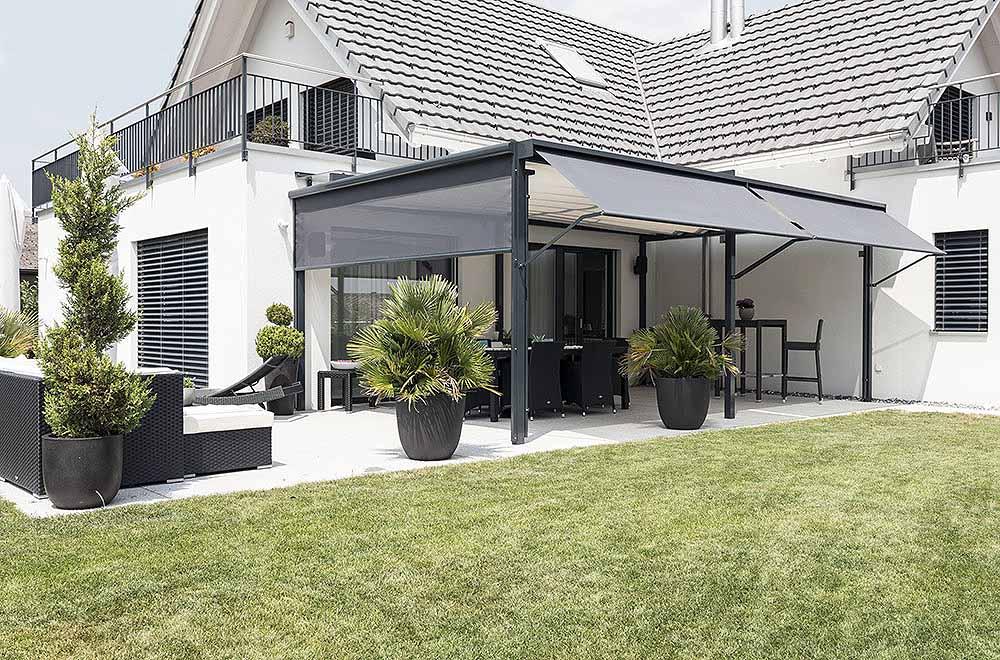 seitenarm store f r windschutz sonnenschutz und regenschutz. Black Bedroom Furniture Sets. Home Design Ideas